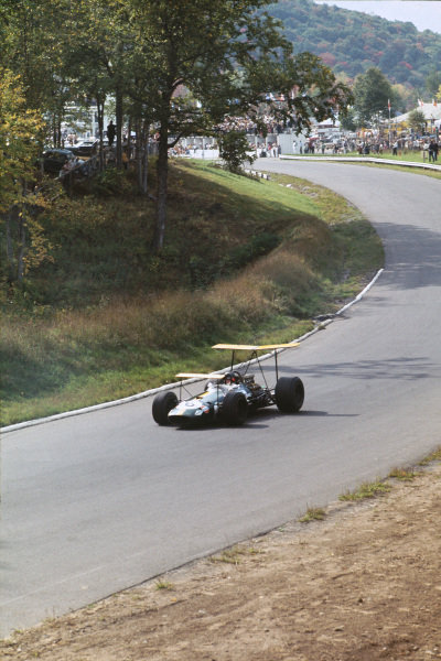 1968 Canadian Grand Prix  Mont-Tremblant, (St. Jovite), Quebec, Canada. 20-22nd September 1968.  Jochen Rindt, Brabham BT26 Repco, retired.  Ref: 68CAN41. World copyright: LAT Photographic