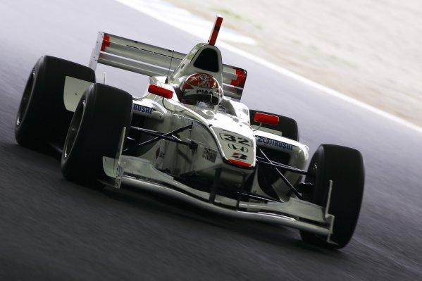 2007 Formula Nippon ChampionshipTwinring Motegi, Japan.19th - 20th May 2007Race winner Takashi Kogure (PIAA Nakajima) 1st position. Action. World Copyright: Yasushi Ishihara/LAT Photographicref: Digital Image 2007_FN_Rd3_003