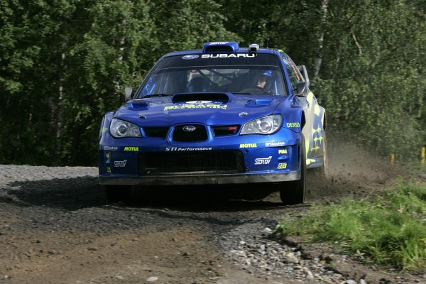 2007 FIA World Rally Champs. Round nineRally Finland.2nd-5th August 2007.Chris Atkinson, Subaru, action.World Copyright: McKlein/LAT