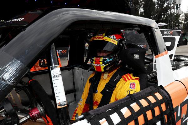 Ryan Hunter-Reay (USA) prepares to drive