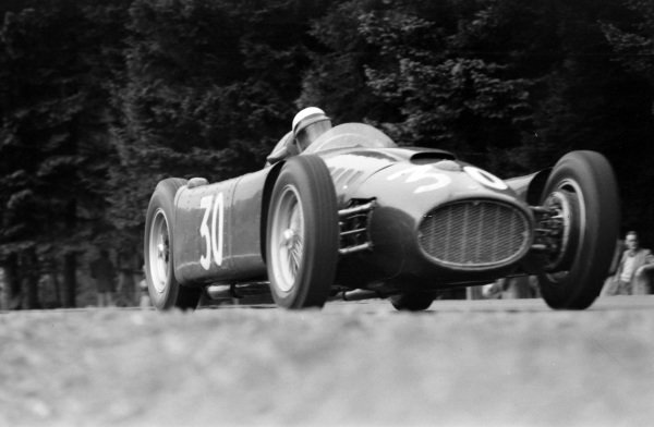 Eugenio Castellotti, Lancia D50.