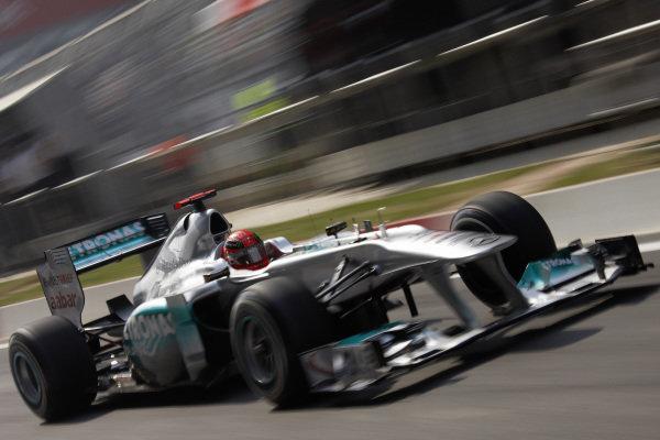 Michael Schumacher, Mercedes MGP W02.