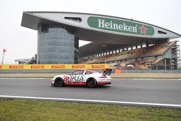 Jeffrey Ciang (TPE) Earl Bamber Motorsport at Porsche Carrera Cup Asia, Shanghai, China, 13-15 April 2018.