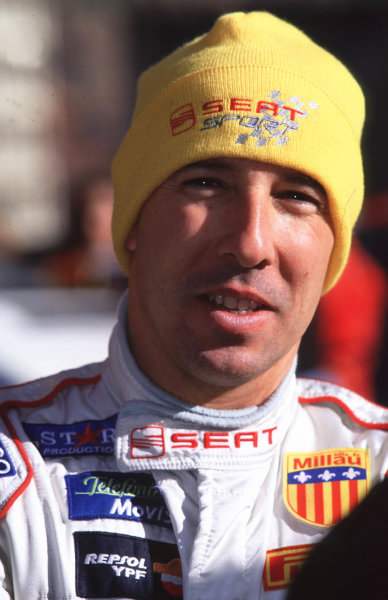 WRC Monte Carlo 2000Didier Auriol's first World Rally for SEAT ended on the penultimate stage when engine problems forced him to retire form 8th position.Photo: McKlein/LAT