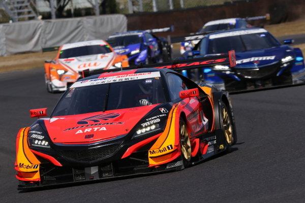 Tomoki Nojiri / Takuya Izawa,  ARTA Honda NSX-GT, pole position in GT500