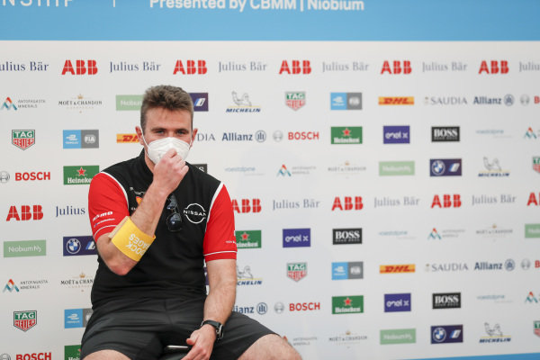 Oliver Rowland (GBR), Nissan e.Dams in the press conference