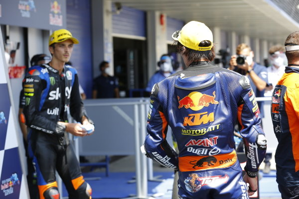 Tetsuta Nagashima, Red Bull KTM Ajo, Luca Marini, Sky Racing Team VR46.