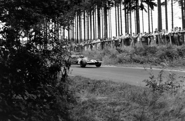 Jacky Ickx, Brabham BT26A Ford.