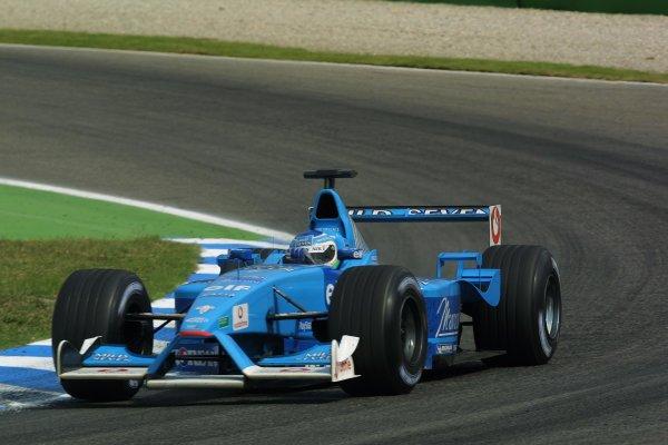 2001 German Grand Prix - RaceHockenheim, Germany. 29th July 2001World Copyright - LAT PhotographicRef: 9 MB Digital File Only