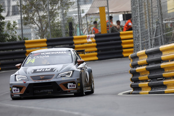 Pepe Oriola, Team Oscaro by Campos Racing Cupra TCR.
