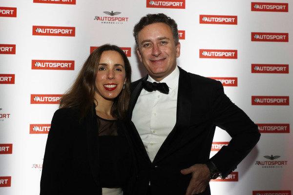 FIA Formula E CEO Alejandro Agag with wife Ana Aznar Botella.