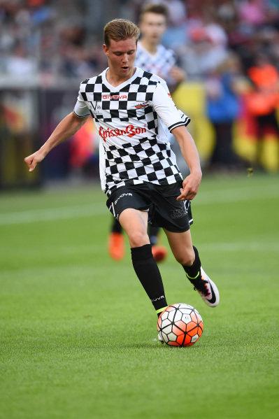 Mick Schumacher (GER) at the Nazionale Piloti Football Match at Formula One World Championship, Rd12, German Grand Prix, Preparations, Hockenheim, Germany, Wednesday 27 July 2016.