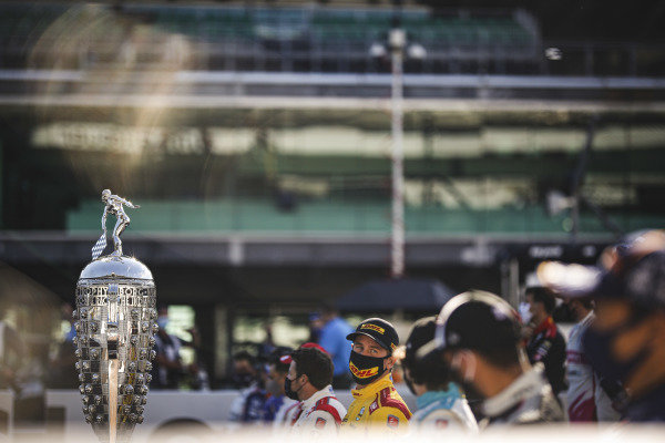 Borg-Warner trophy, #28: Ryan Hunter-Reay, Andretti Autosport Honda