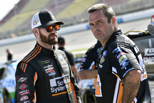 #32: Corey LaJoie, Go FAS Racing, Ford Mustang Schluter Systems and Randy Cox