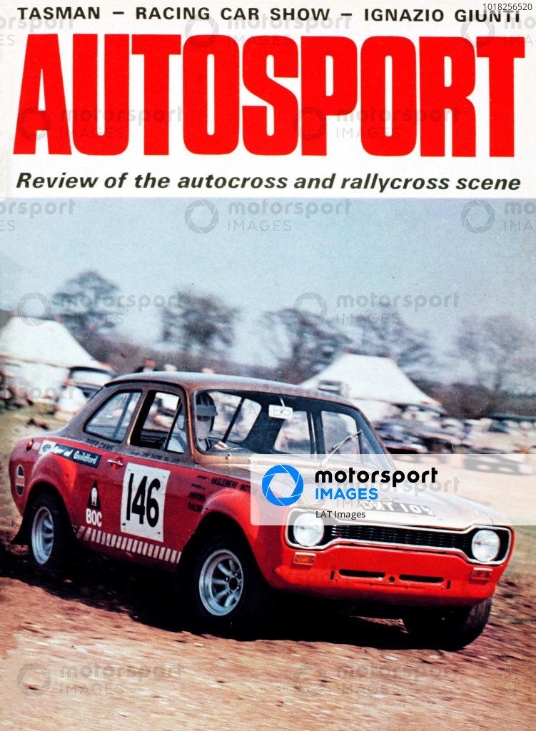 Cover of Autosport magazine, 14th January 1971