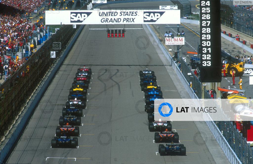 2001 United States Grand Prix.