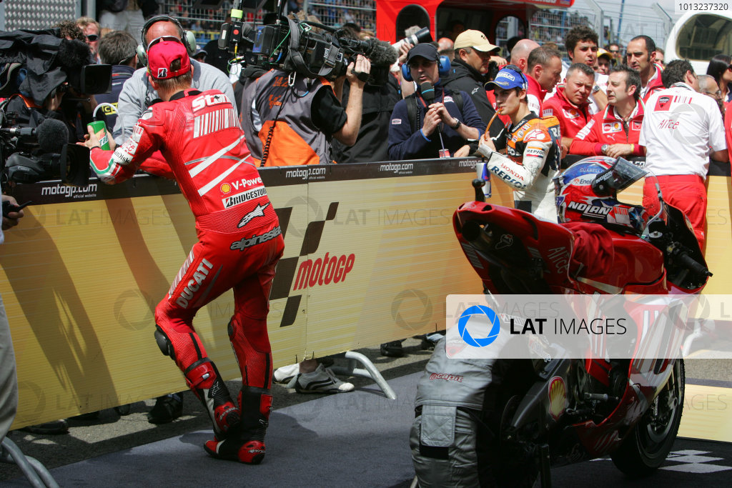 2008 MotoGP Chamiponship.