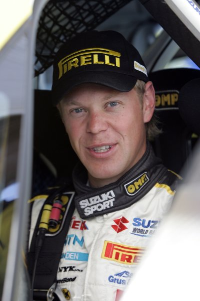 2008 FIA World Rally ChampionshipRound 07Acropolis Rally  200829/5-1/6  2008PG Andersson, Suzuki WRC, Portrait
