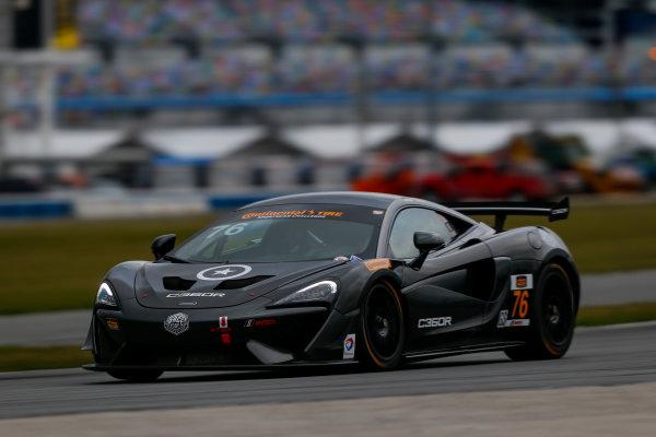 5-8 January, 2017, Daytona Beach, Florida USA 76, McLaren, McLaren GT4, GS, Matt Plumb ?2017, Jake Galstad LAT Photo USA