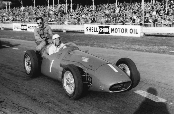 Goodwood, England. 2nd April 1956.