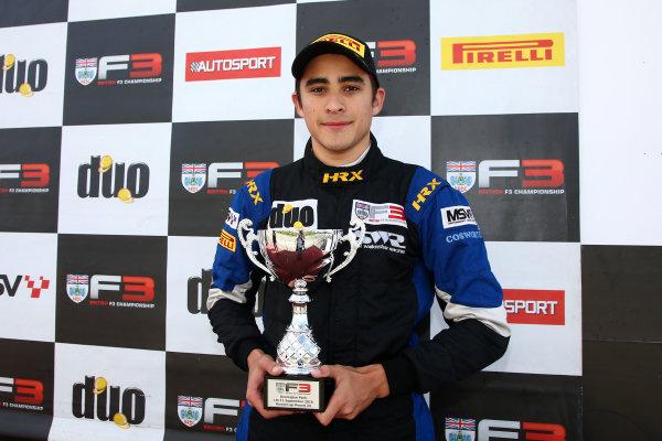 2016 BRDC F3 Championship, Donington Park, Leicestershire. 10th - 11th September 2016. Eugene Denyssen (RSA) Sean Walkinshaw Racing BRDC F3. World Copyright: Ebrey / LAT Photographic.