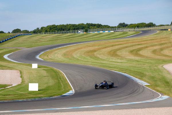 FIA Formula E Season 3 Testing - Day Two. Donington Park Racecourse, Derby, United Kingdom. Sebastien Buemi, Renault e.Dams, Spark-Renault. Wednesday 24 August 2016. Photo: Adam Warner / LAT / FE. ref: Digital Image _14P2239
