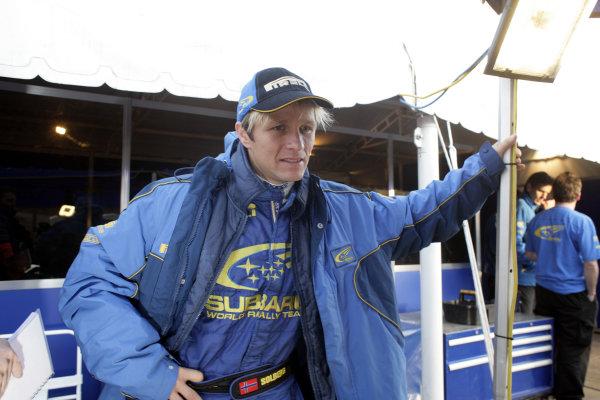2005 FIA World Rally Champs. Round nine, Rally Argentina 14th - 17th July 2005 Petter Solberg, Subaru, portrait World Copyright: McKlein/LAT