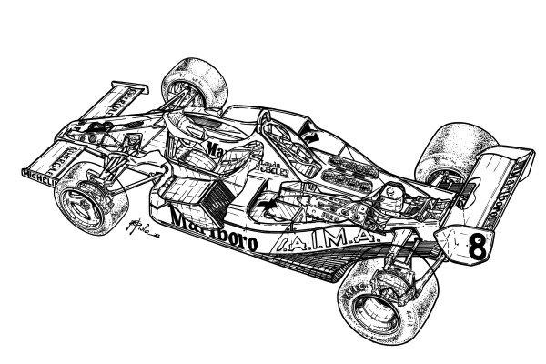 McLaren MP4-1C 1983 detailed overview