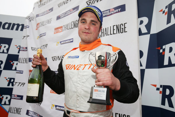 2017 Ginetta GT5 Championship Rockingham, England. 29th-30th April 2017, Simon Traves Ginetta GT5 World copyright. JEP/LAT Images