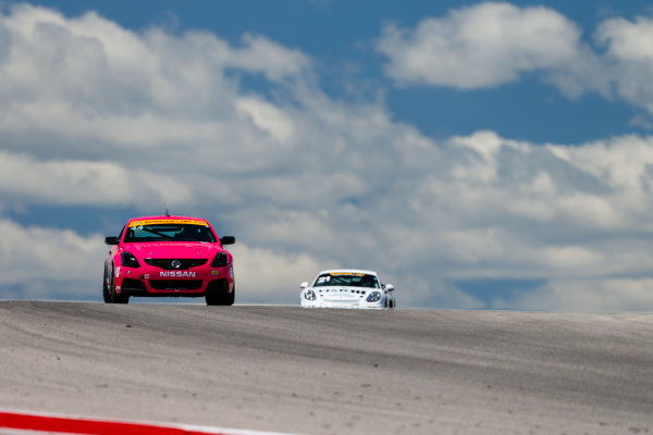 IMSA Continental Tire SportsCar Challenge Advance Auto Parts SportsCar Showdown Circuit of The Americas, Austin, TX USA Thursday 4 May 2017 44, Nissan, Altima, ST, Sarah Cattaneo, Owen Trinkler World Copyright: Jake Galstad LAT Images