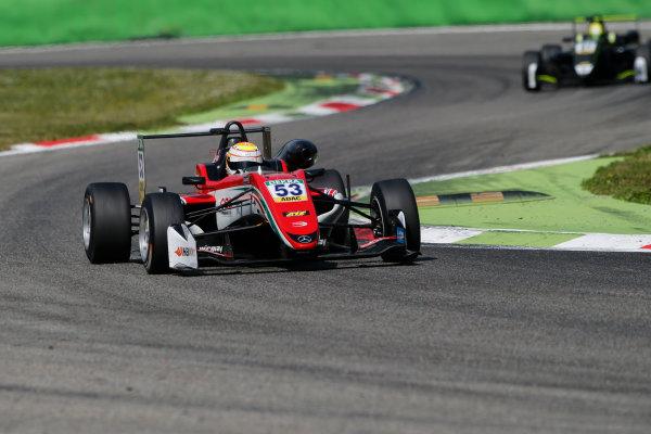 2017 FIA Formula 3 European Championship. Round 2 - Monza, Italy. Sunday 30 April 2017. Callum Ilott, Prema Powerteam, Dallara F317 - Mercedes-Benz World Copyright: James Gasperotti/LAT Images ref: Digital Image _JG14706