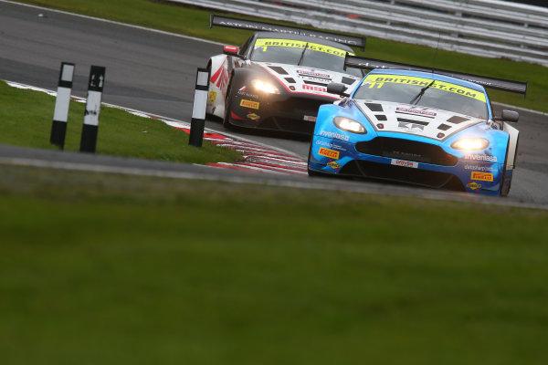 2017 British GT Championship, Oulton Park, 15th-17th April, 2017, Mark Farmer / Jon Barnes TF Sport Aston Martin Vantage GT3   World copyright. JEP/LAT Images