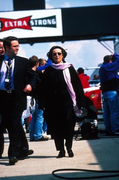 Nicola Foulston (GBR) Ex Boss of Brands Hatch Leisure.Silverstone, April, 1999