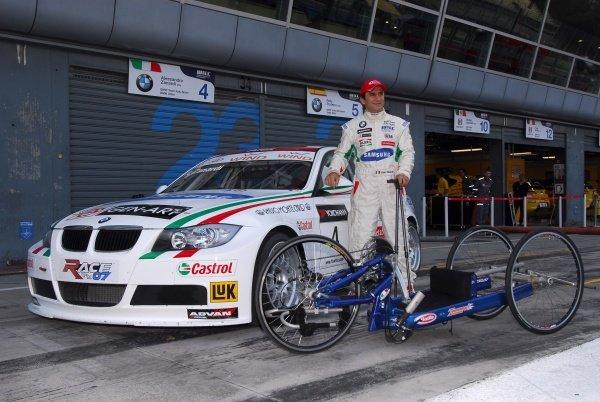 Alessandro Zanardi (ITA) BMW Team Italy-Spain  WTCC, Rd19&20, Monza, Italy. 7 October 2007.