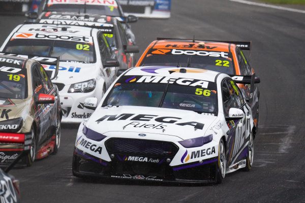 2017 Supercars Championship Round 14.  Auckland SuperSprint, Pukekohe Park Raceway, New Zealand. Friday 3rd November to Sunday 5th November 2017. Jason Bright, Prodrive Racing Australia Ford.  World Copyright: Daniel Kalisz/LAT Images  Ref: Digital Image 051117_VASCR13_DKIMG_4066.jpg
