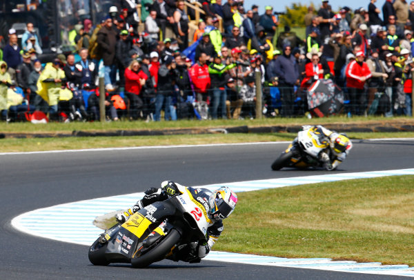 2017 Moto2 Championship - Round 16 Phillip Island, Australia. Sunday 22 October 2017 Jesko Raffin, CarXpert Interwetten Moto2 World Copyright: Gold and Goose / LAT Images ref: Digital Image 24760