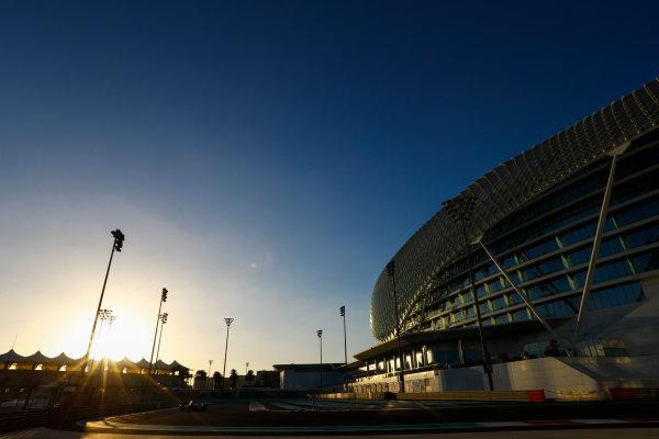 Yas Marina Circuit, Abu Dhabi, United Arab Emirates. Wednesday 29 November 2017. Charles Leclerc, Sauber C36 Ferrari.  World Copyright: Joe Portlock/LAT Images  ref: Digital Image _R3I6081