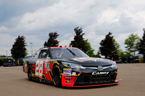 NASCAR XFINITY Series Zippo 200 at The Glen Watkins Glen International, Watkins Glen, NY USA Friday 4 August 2017 Dakoda Armstrong, JGL Racing Toyota Camry World Copyright: Russell LaBounty LAT Images