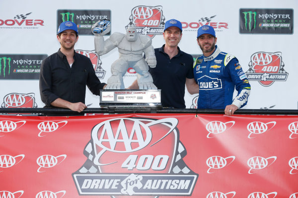 Monster Energy NASCAR Cup Series AAA 400 Drive for Autism Dover International Speedway, Dover, DE USA Sunday 4 June 2017 Jimmie Johnson, Hendrick Motorsports, Lowe's Chevrolet SS World Copyright: Matthew T. Thacker LAT Images ref: Digital Image 17DOV1mt1944