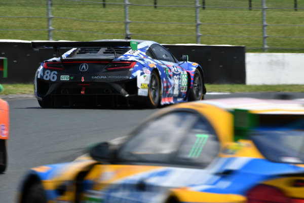 IMSA WeatherTech SportsCar Championship Mobil 1 SportsCar Grand Prix Canadian Tire Motorsport Park Bowmanville, ON CAN Sunday 9 July 2017 86, Acura, Acura NSX, GTD, Oswaldo Negri Jr., Jeff Segal World Copyright: Richard Dole/LAT Images ref: Digital Image DOLE_CTMP_17_001383