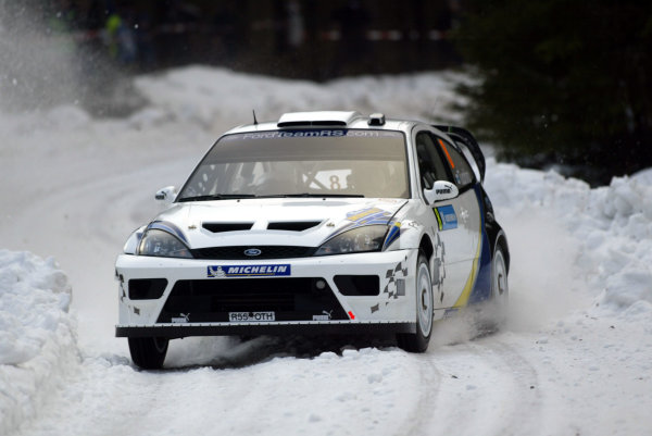 2004 FIA World Rally Champs. Round two, Swedish Rally.5th-8th February 2004.Janne Tuohino, Ford, action.World Copyright: McKlein/LAT