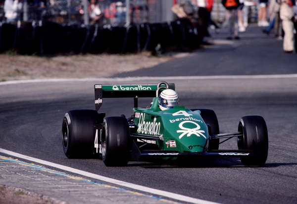 1983 Dutch Grand Prix.Zandvoort, Holland.26-28 August 1983.Danny Sullivan (Tyrrell 011 Ford).Ref-83 HOL 39.World Copyright - LAT Photographic