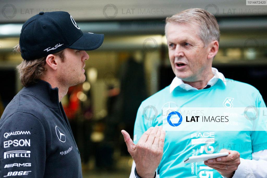 Sochi Autodrom, Sochi, Russia. Sunday 11 October 2015. Nico Rosberg, Mercedes AMG. World Copyright: Alastair Staley/LAT Photographic ref: Digital Image _79P1579