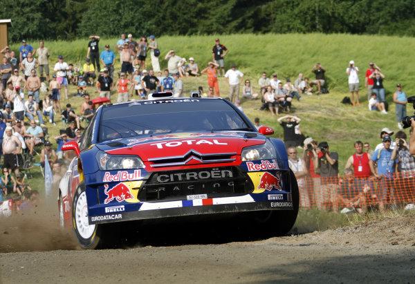 Round 08Rally Finland 29-31 July 2010Sebastien Loeb, Citroen WRC, ActionWorldwide Copyright: McKlein/LAT