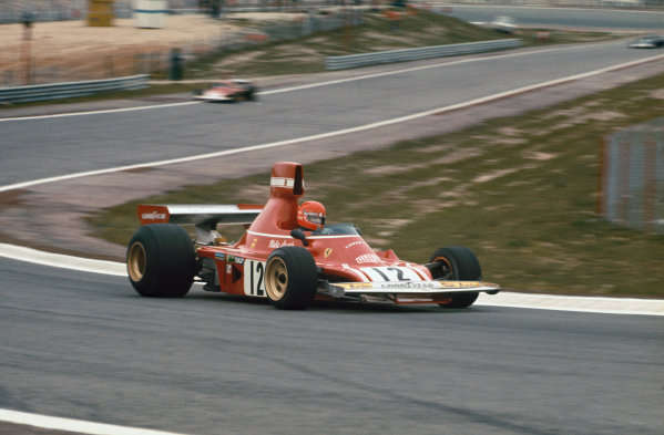 1974 Spanish Grand Prix.  Jarama, Madrid, Spain. 26-28th April 1974.  Niki Lauda, Ferrari 312B3, 1st position.  Ref: 74ESP17. World Copyright: LAT Photographic