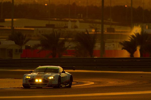 2015 FIA World Endurance Championship Bahrain 6-Hours Bahrain International Circuit, Bahrain Saturday 21 November 2015. Darren Turner, Jonny Adam (#97 GTE PRO Aston Martin Racing Aston Martin Vantage V8). World Copyright: Sam Bloxham/LAT Photographic ref: Digital Image _G7C1700
