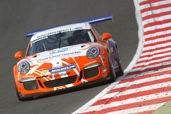 2016 Porsche Carrera Cup Brands Hatch, 2nd-3rd April 2016, Dan Cammish (GBR) Redline World copyright. Jakob Ebrey/LAT photographic