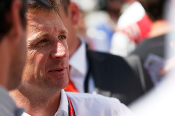 2014 Le Mans 24 Hours. Circuit de la Sarthe, Le Mans, France. Saturday 14 June 2014. Allan McNish Photo: Sam Bloxham/LAT ref: Digital Image _SBL0623