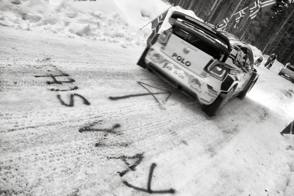Sebastien Ogier (FRA) / Julien Ingrassia (FRA), Volkswagen Polo R WRC at World Rally Championship, Rd2, Rally Sweden, Preparations and Shakedown, Karlstad, Sweden, 12 February 2015.