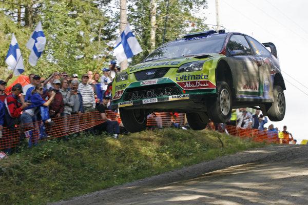Round 09Neste Oli Rally Finland 200831/7-3/8  2008Mikko Hirvonen, Ford WRC, Action